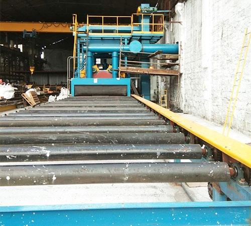 钢板预处理线安装