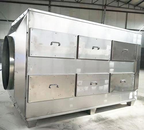 304不锈钢活性炭吸附箱